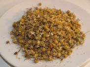 getrocknete Kamille-Blüten